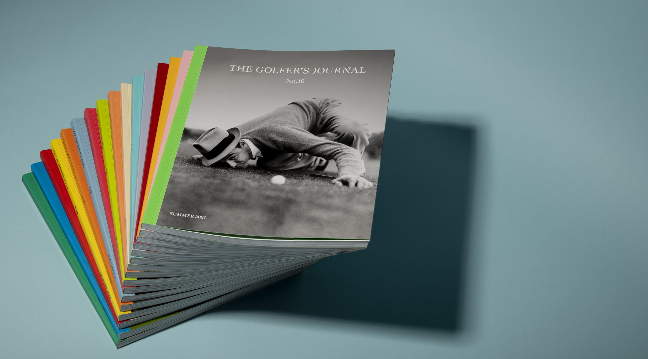 The Golfer's Journal Stack