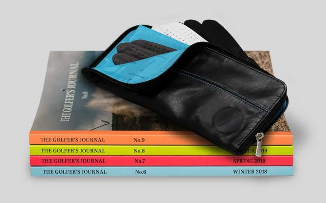 The Golfer's Journal Premium Subscription Gift - Links & Kings Leather Glove Keeper