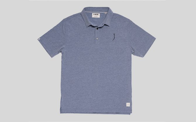 TGJ Linksoul Drytech Polo | Dawn Heather