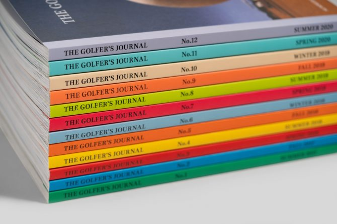 The Golfer's Journal No 1-12