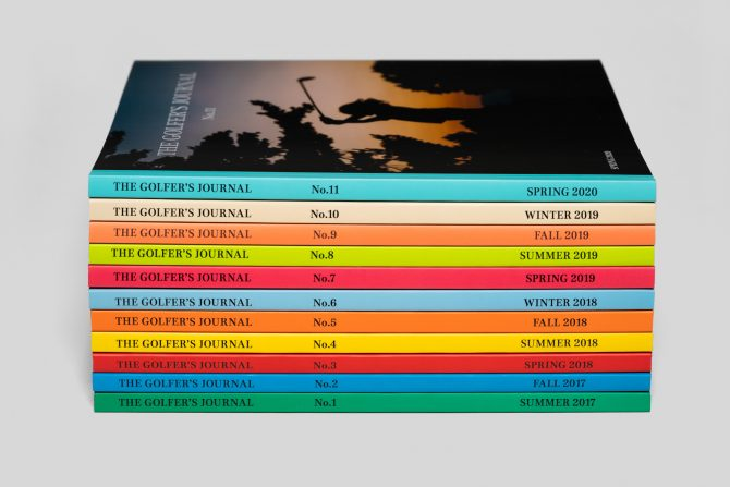 The Golfer's Journal Collection Bundle No.1-11
