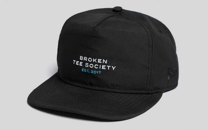 The Broken Tee Society Snapback Hat