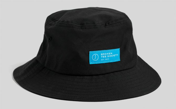 The Golfer's Journal - The Black Bucket Hat