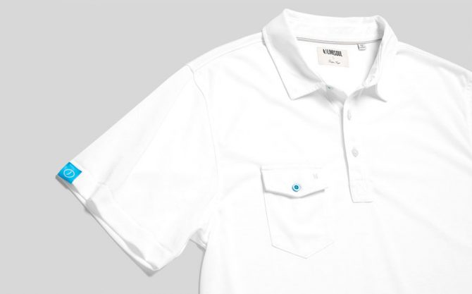TGJ x Linksoul - The Modern Classic Polo - White
