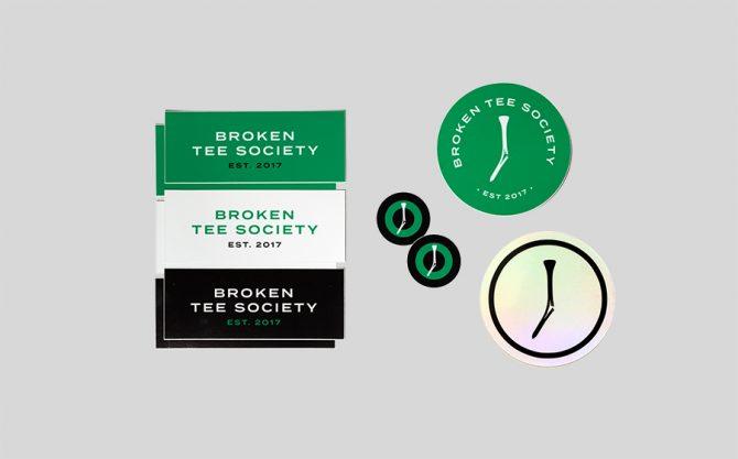 TGJ Stickers