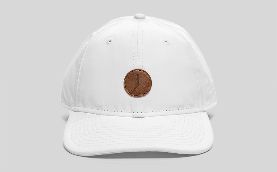 TGJ Packable Dad Hat - White