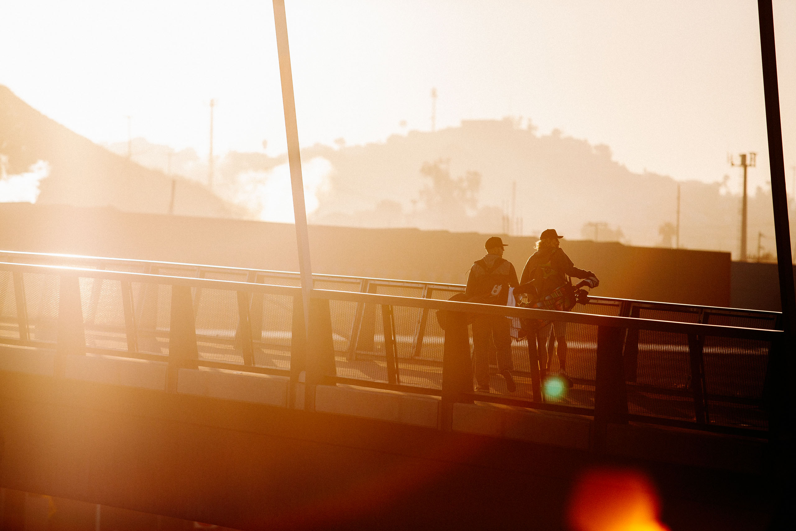 Golfers cross the U.S.-Mexico border into Tijuana