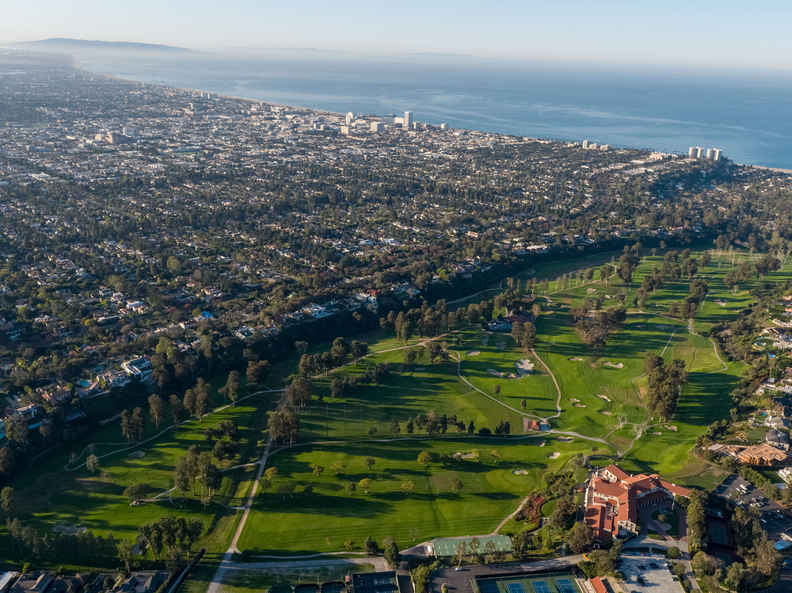 Riviera Country Club in Pacific Palisades, California