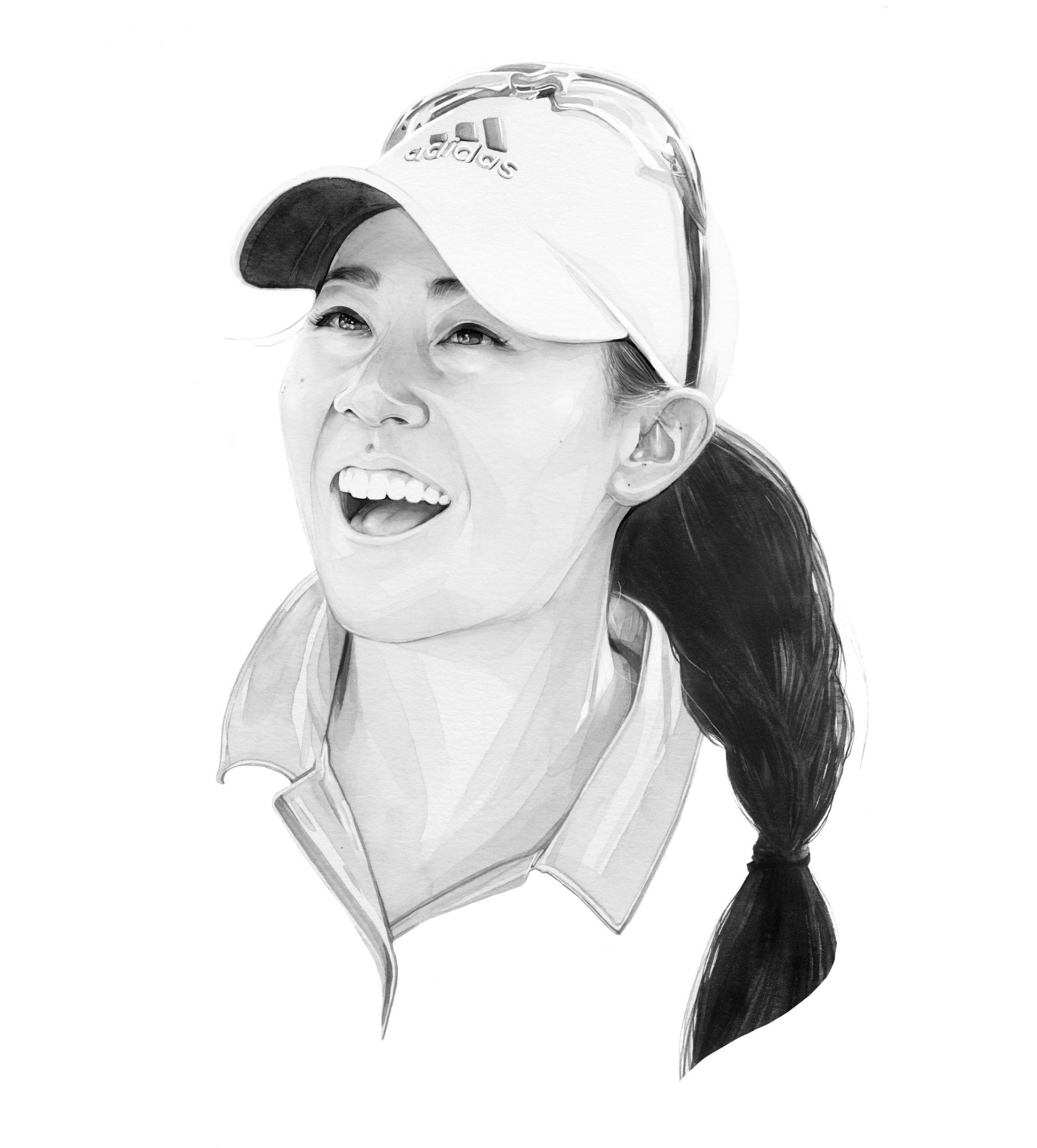 Danielle Kang. Illustration: Kate Copeland