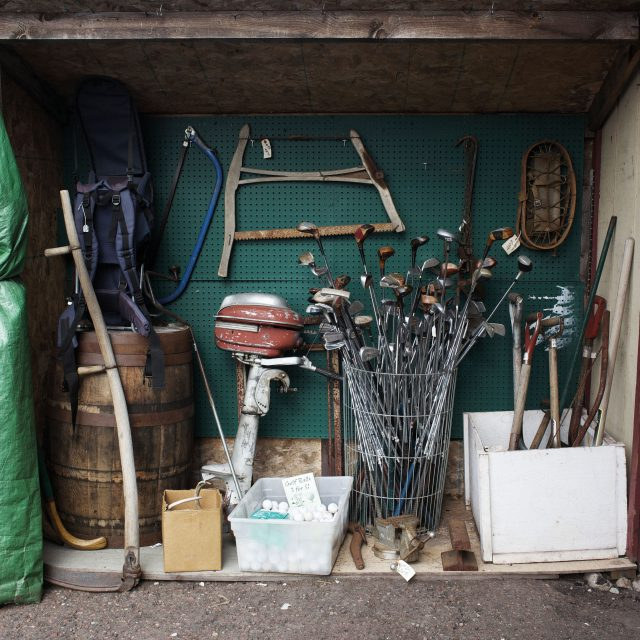 Golf shed. Photo by Peter Baker