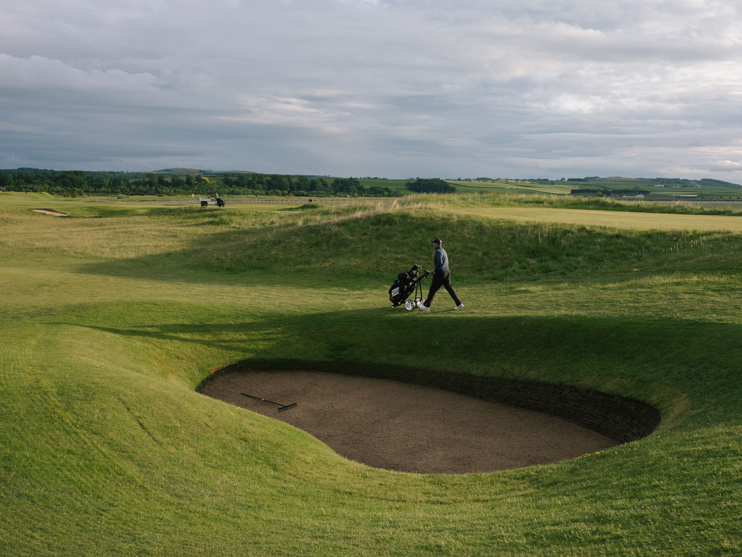St Andrews, the Old Course, Admiral's Bunker