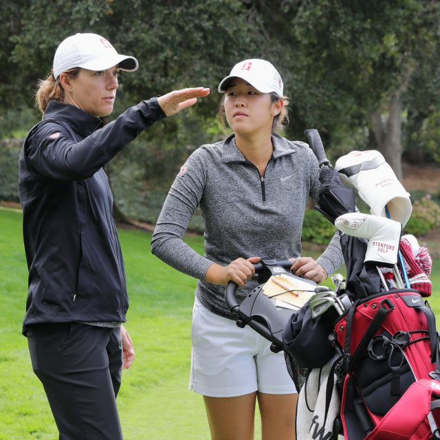 STANFORD, CA - October 15, 2016: Round 2 of the 21st Stanford Intercollegiate at Stanford Golf Course.