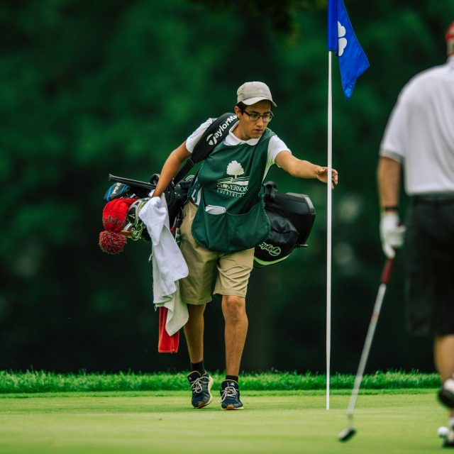 Caddie at Clovernook Country Club