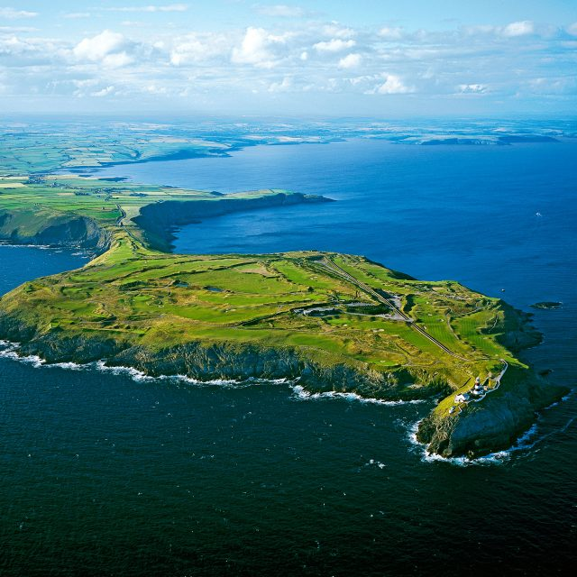 Aerial image of Old Head Golf Links