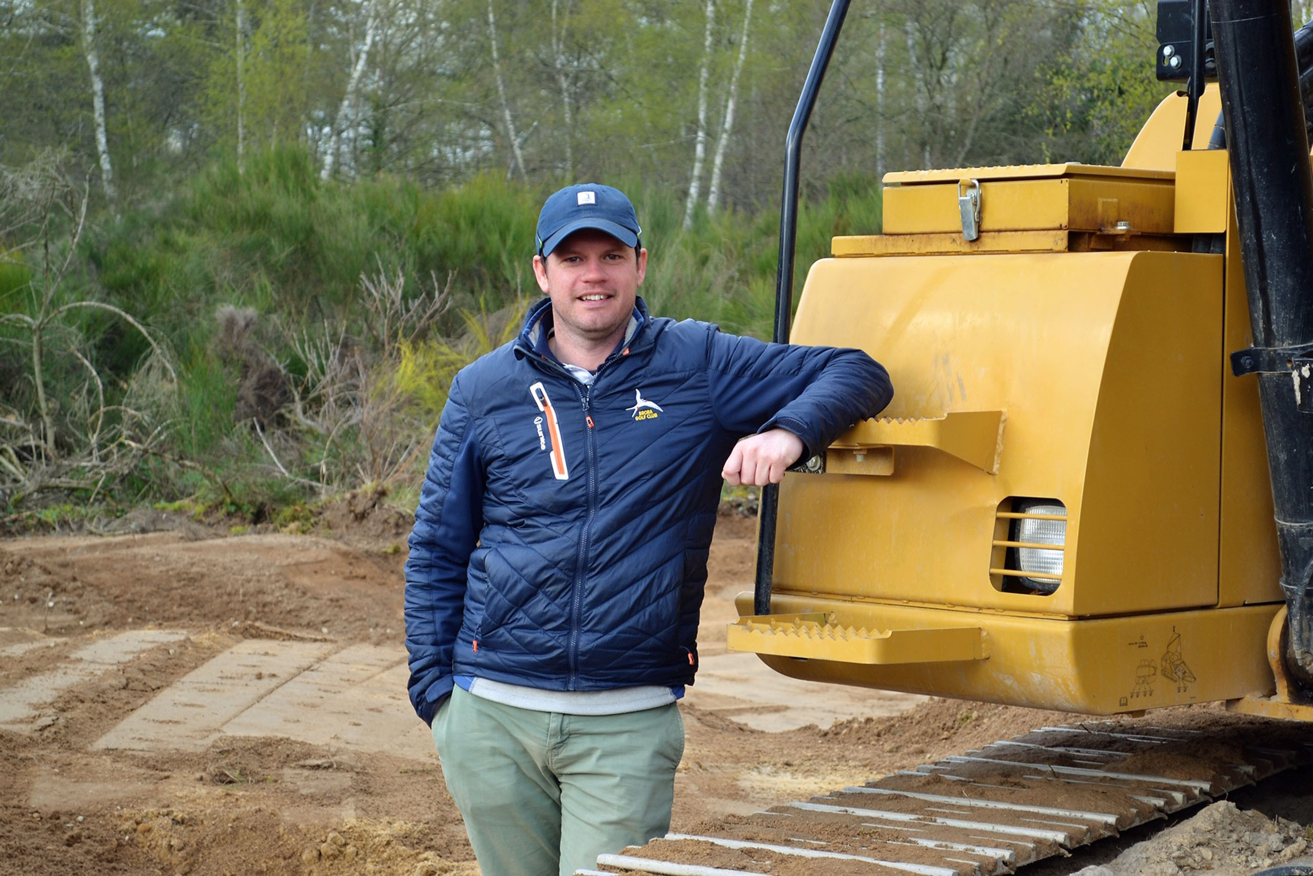 Neil Cameron, French golf course shaper