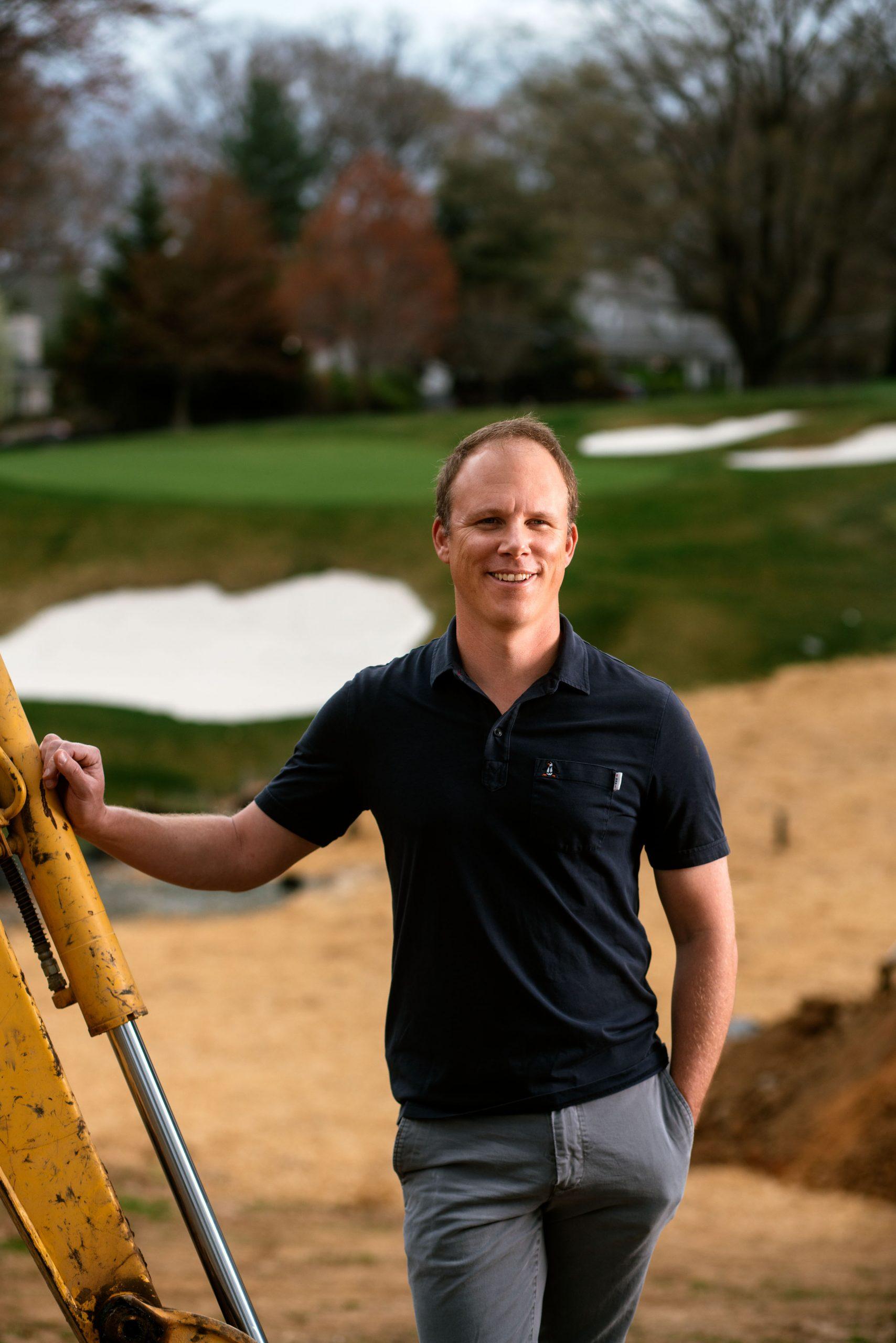Michael McCartin, Golf Course Shaper