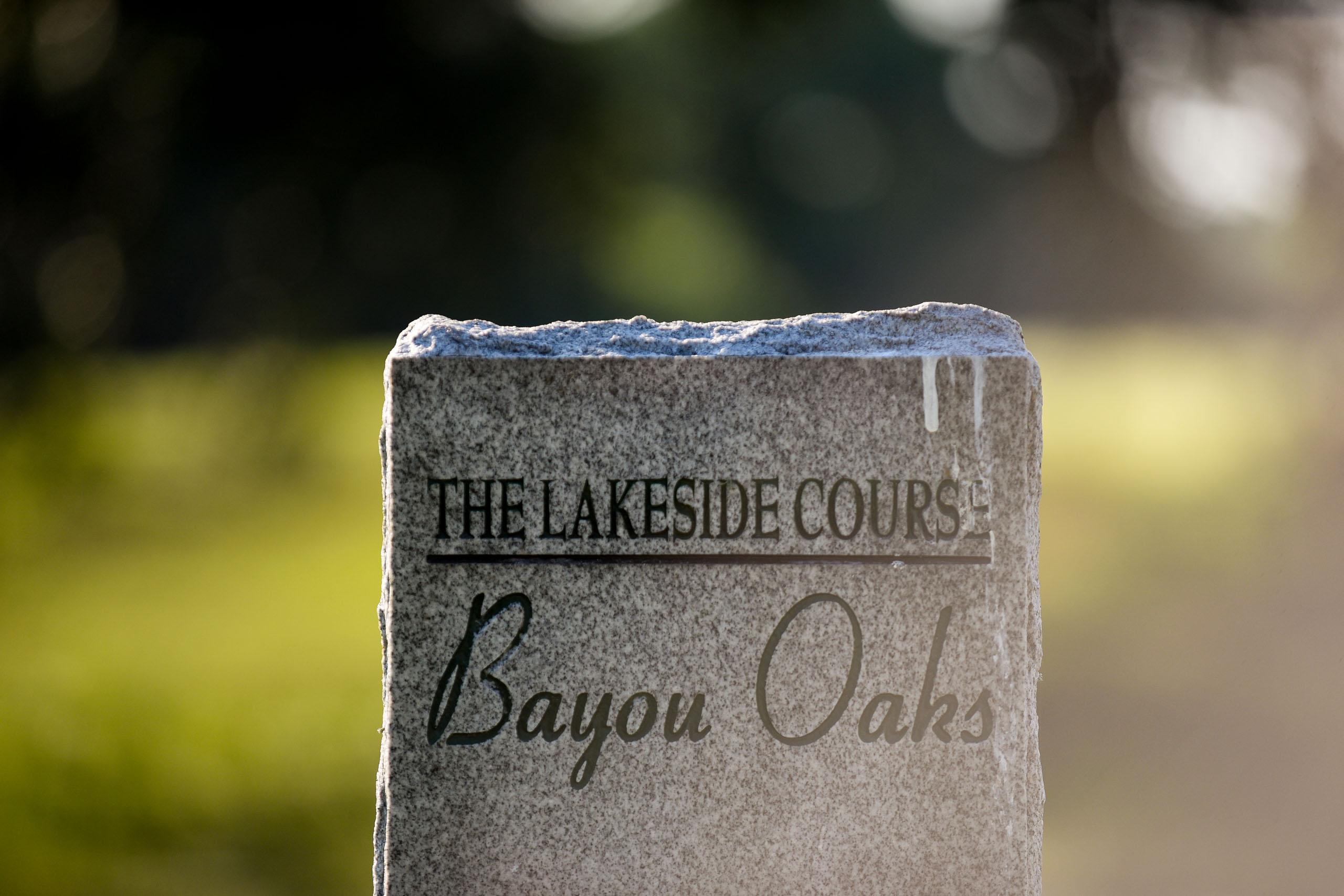 Bayou Oaks, Lakeside Course. Photo by Ryan Young
