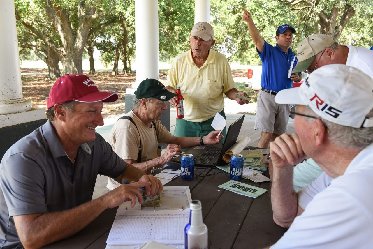 The City Park Golf Club has called the North Course home for more than 40 years. Each Saturday, it's where Duke and the rest of the crew battle for dollar bills and post-round beers. Photo by Ryan Young