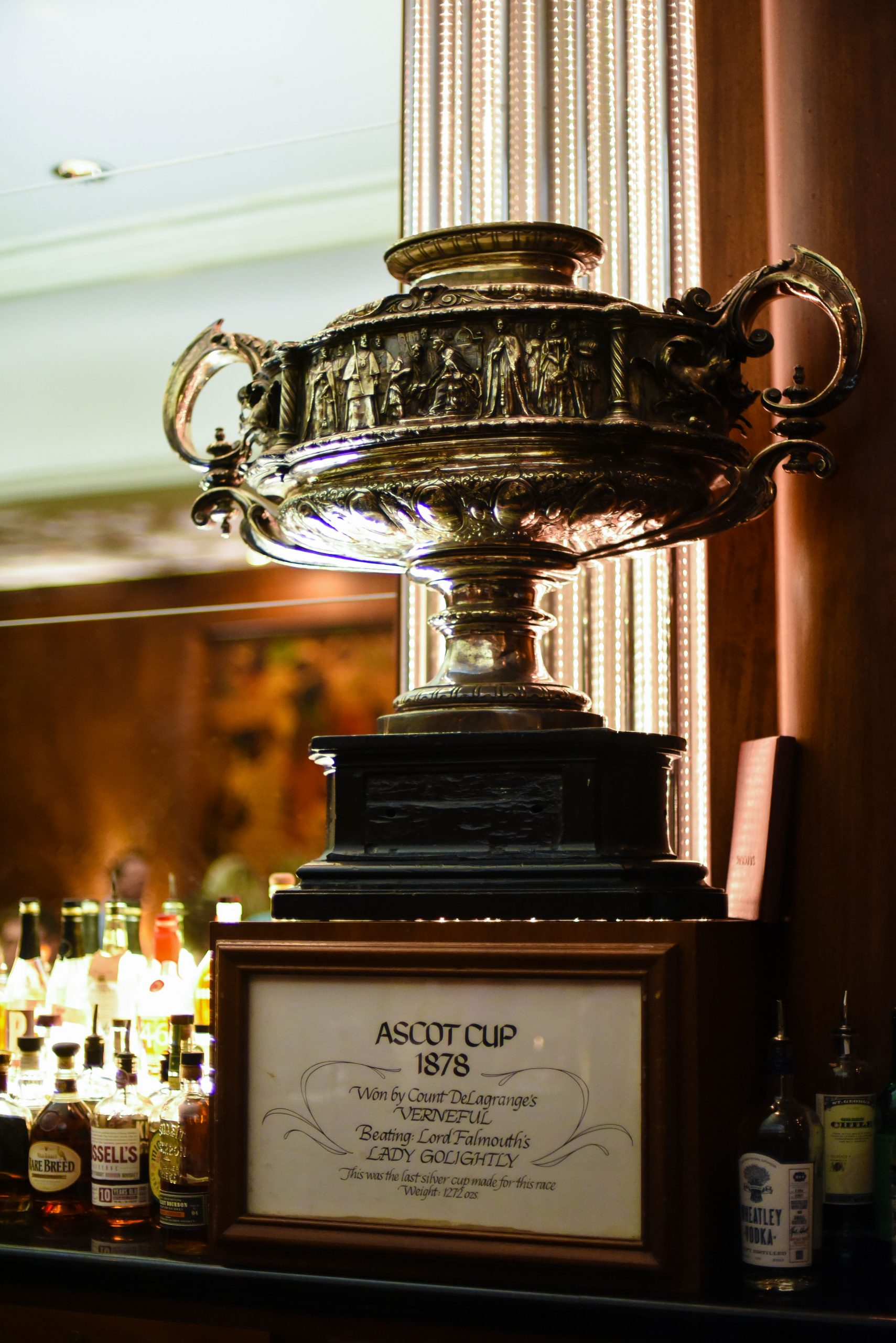 Ascot Cup, 1878. Photo by Ryan Young