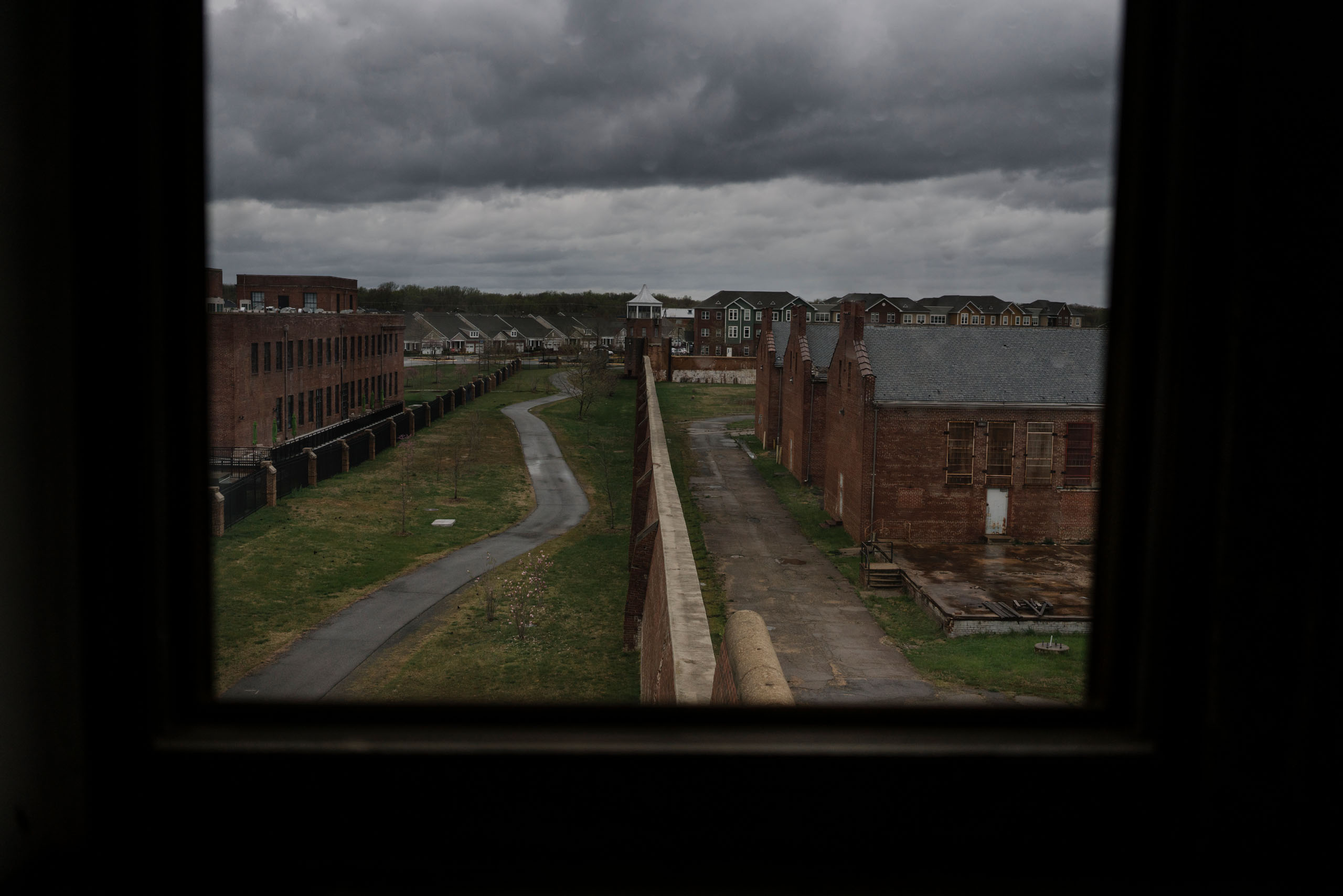 Old prison grounds. Photo by Lexey Swall.