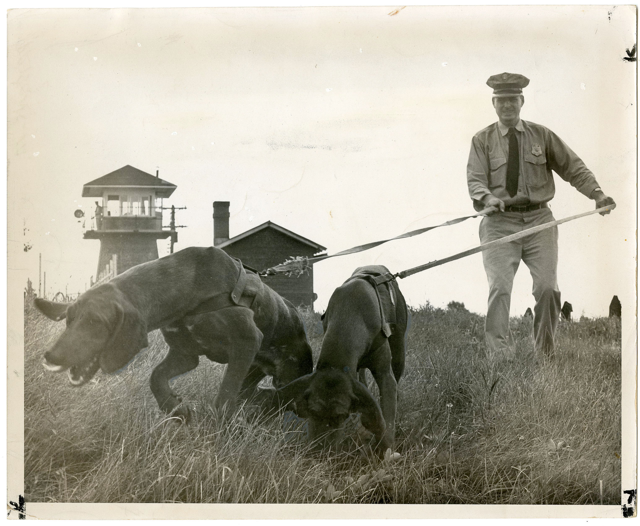 Despite Theodore Roosevelt's initial vision for the land to function as a bucolic working farm that showed prisoners the value of a hard day's work and provided the opportunity to learn a trade, it evolved into Lorton Prison, one of the nation's most notorious lockups. Photo: Courtesy of The D.C. Public Library