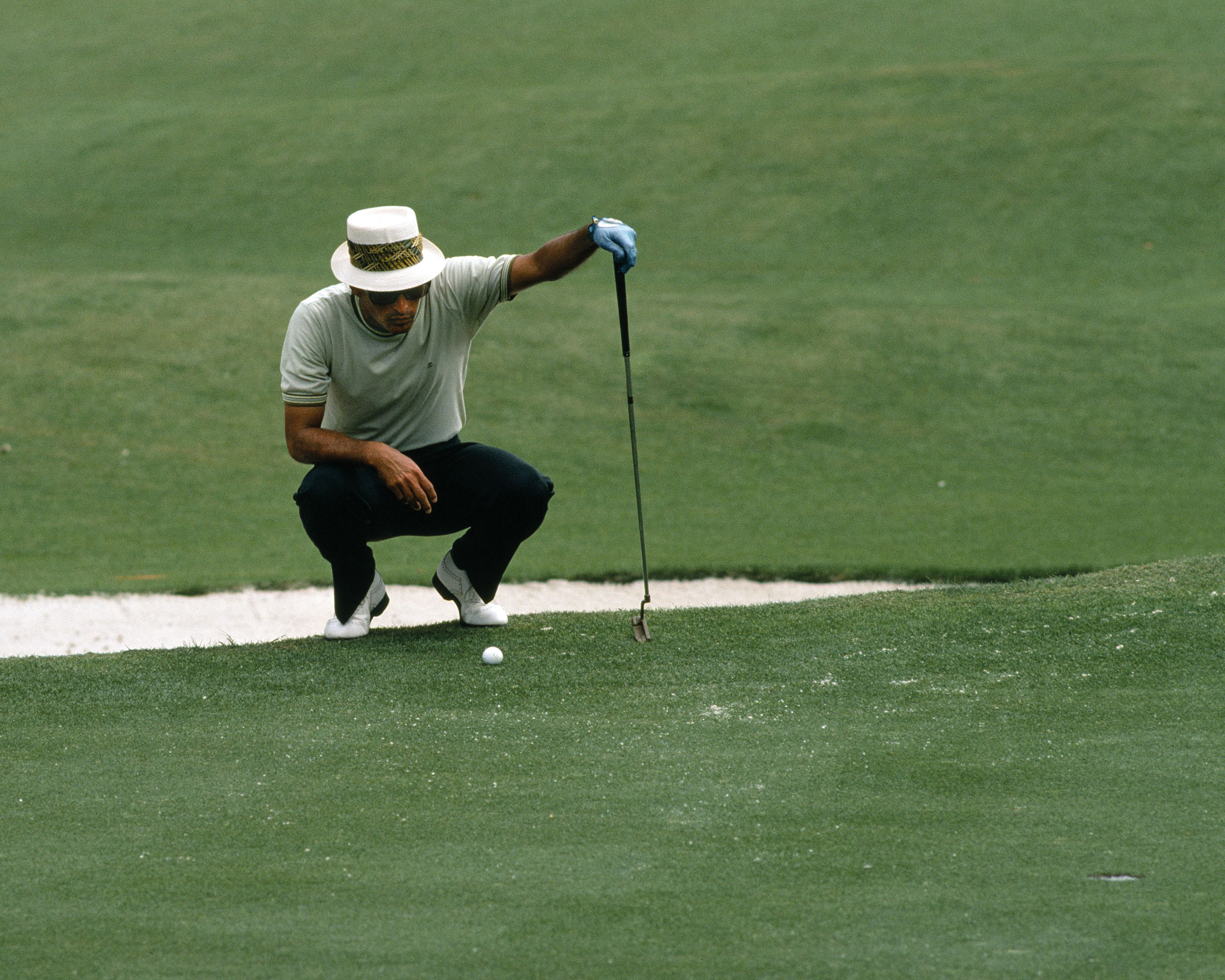 PGA Golfer Chi Chi Rodriguez. (Photo by Augusta National/Getty Images)