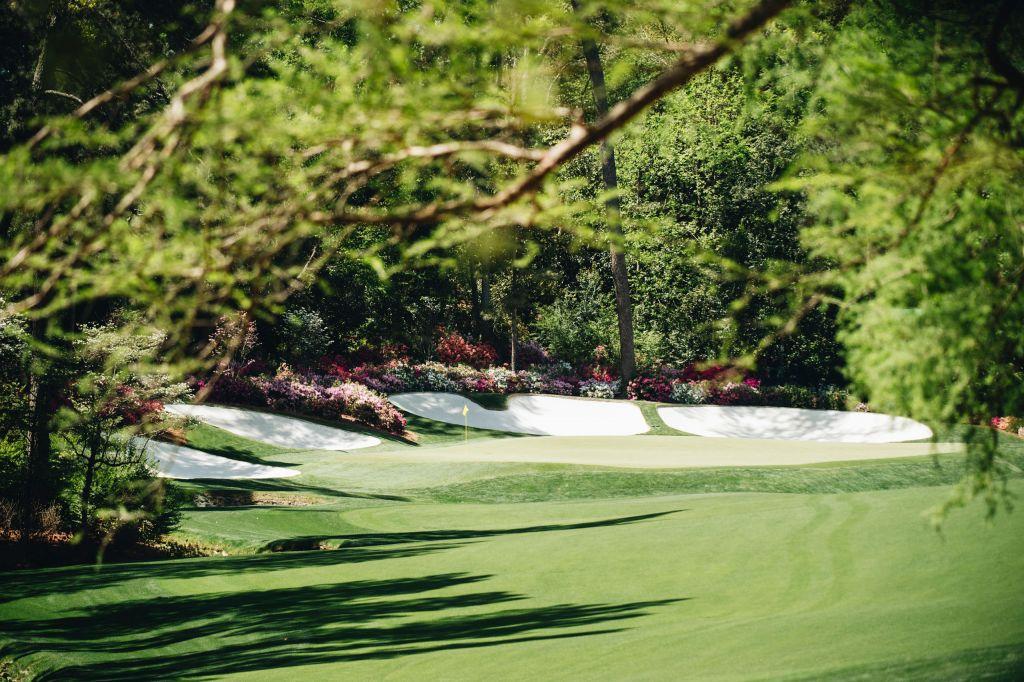 Golf: 2018 Masters Golf Tournament Round One Augusta National Golf Club/Augusta, GA, USA 4/5/2018 X161845 TK1 Credit: Kohjiro Kinno