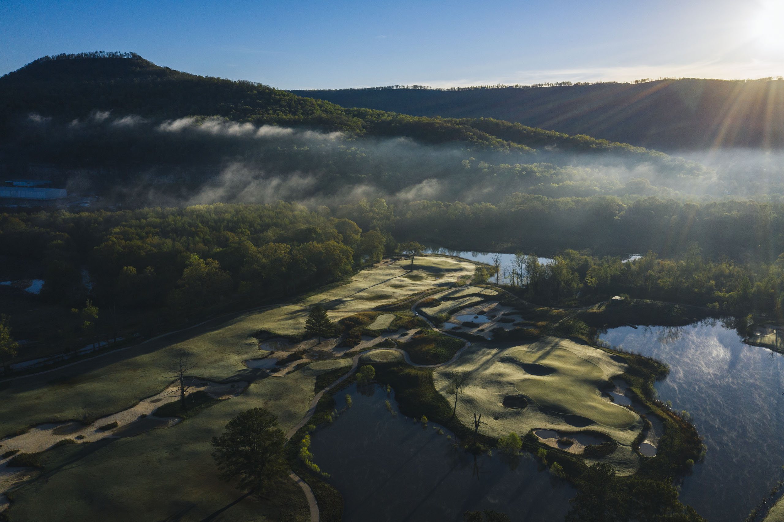 Sweetens Cove Golf Club in the Sequatchie Valley, Tennessee