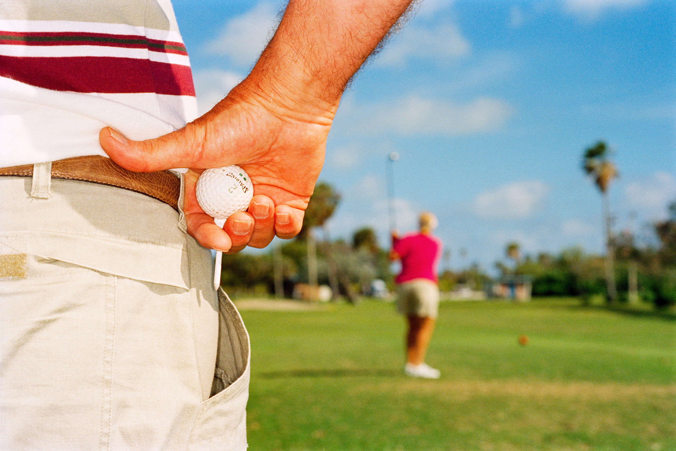 Florida Golf In 1997 Wasn't Much Different From 1987. Or 1977. Photo by Martin Parr.