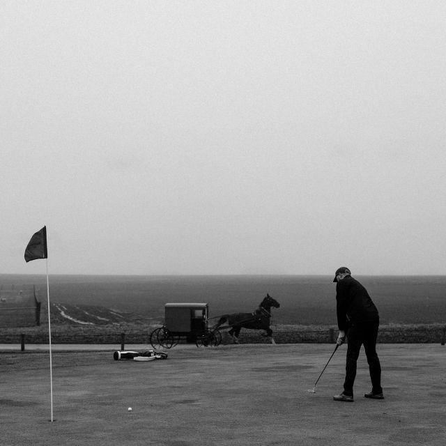 amish golf. Photo: Christian Hafer
