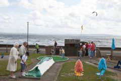 Mini-golf For Young And Old At The Troon Seafront In 2009. Photo by Martin Parr