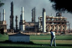 Wealthy Pemex Employees Had This Course To Themselves In Ciudad Madero, Mexico, In 1983. Photo by Alex Webb
