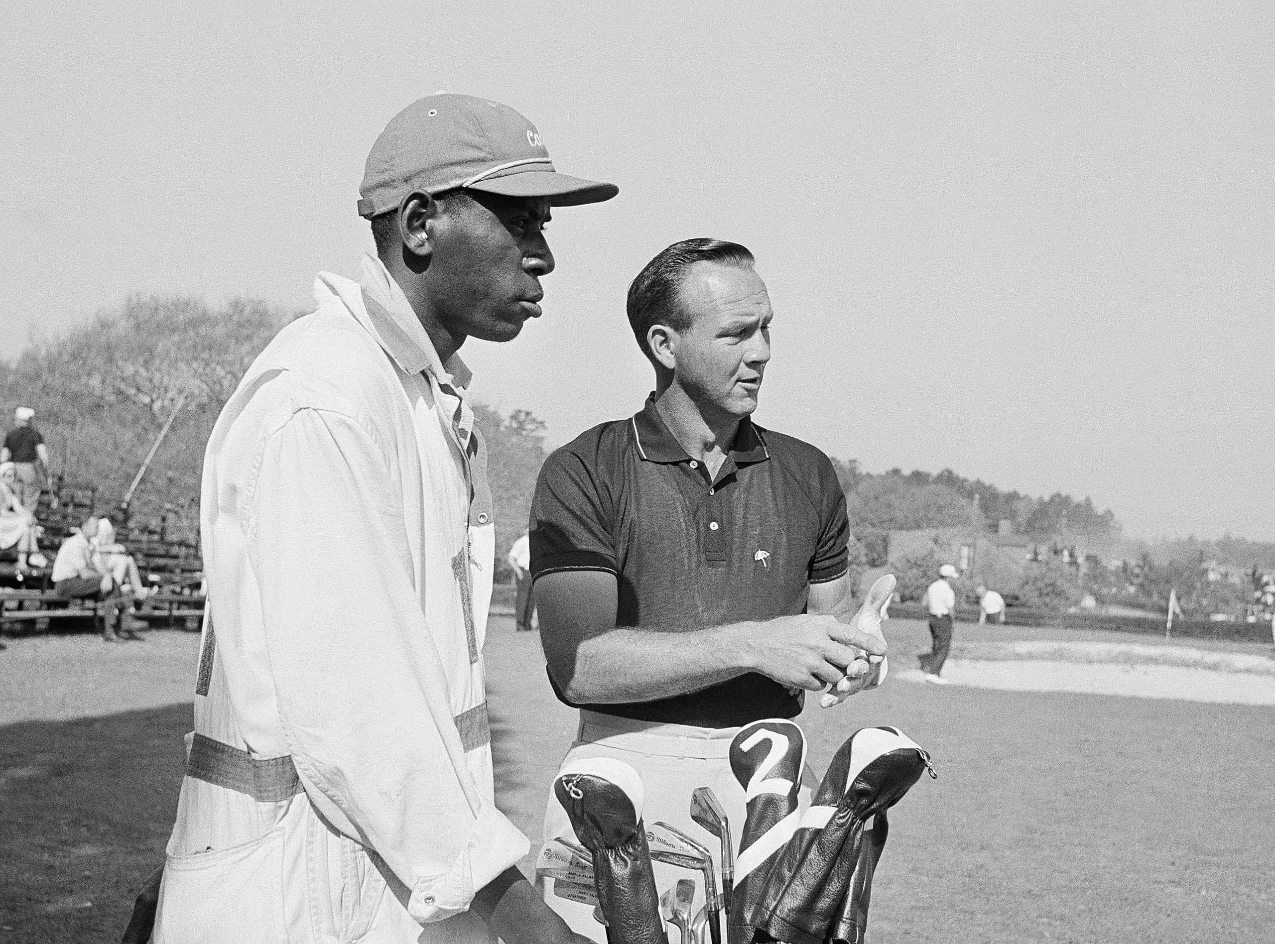 Iron Man and Arnold Palmer