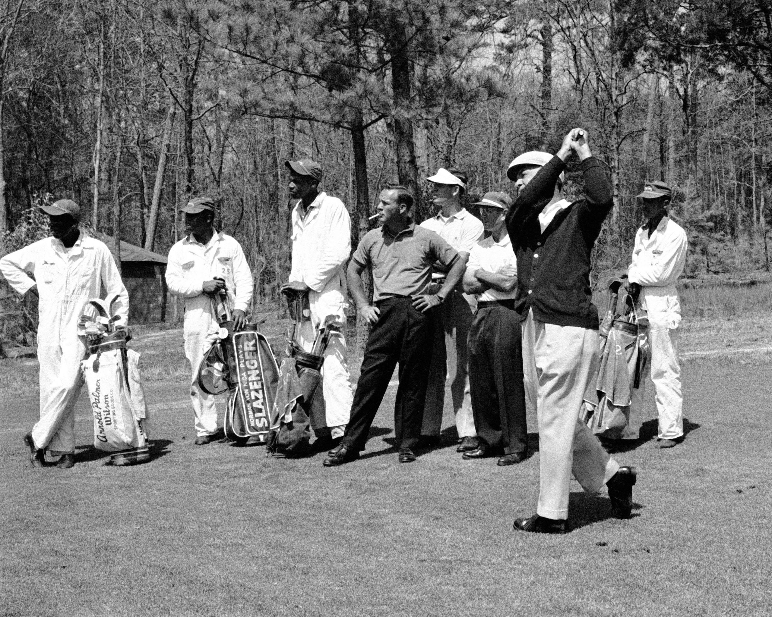 Arnold Palmer Ben Hogan Masters 1960