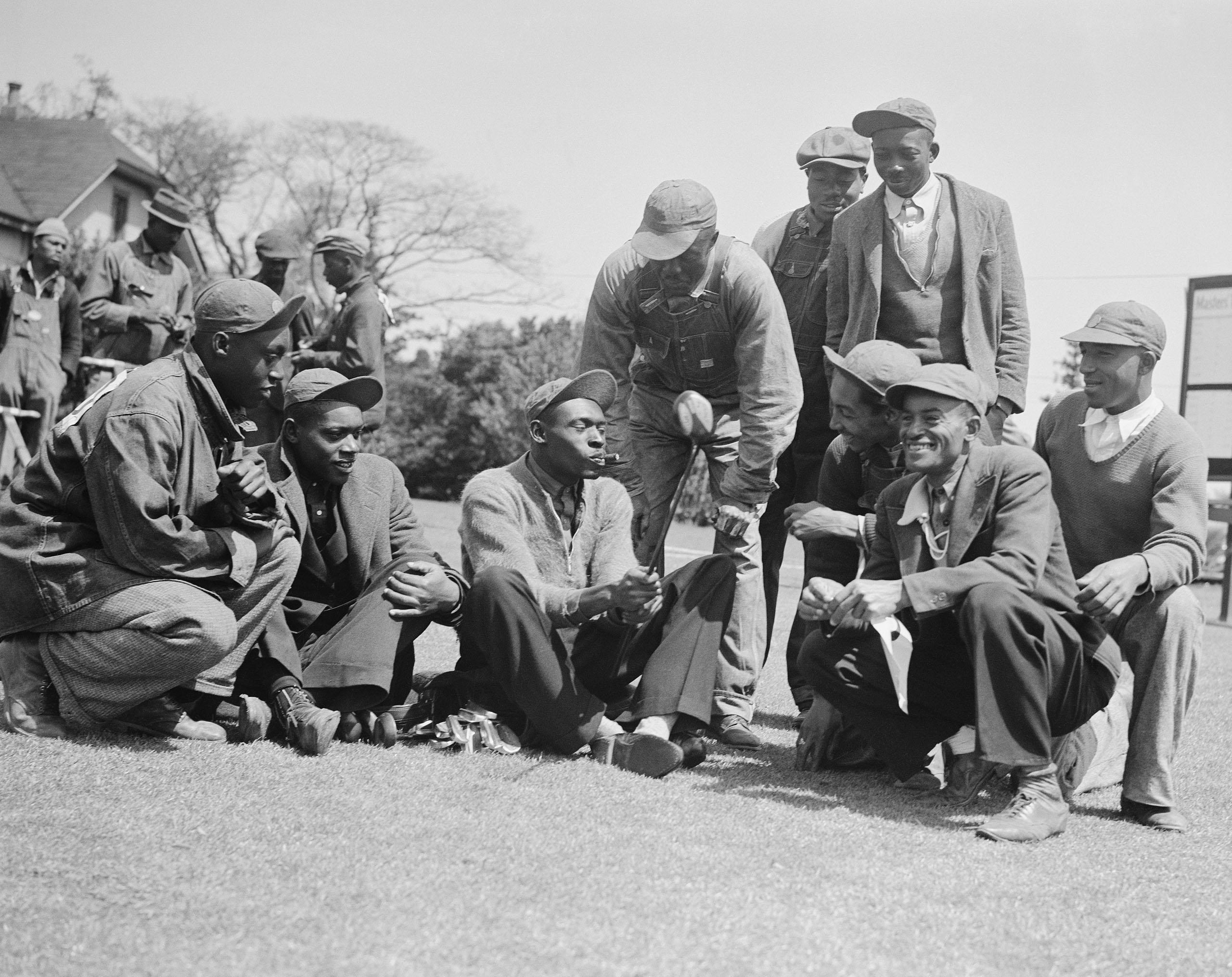 Augusta National Caddies 1935