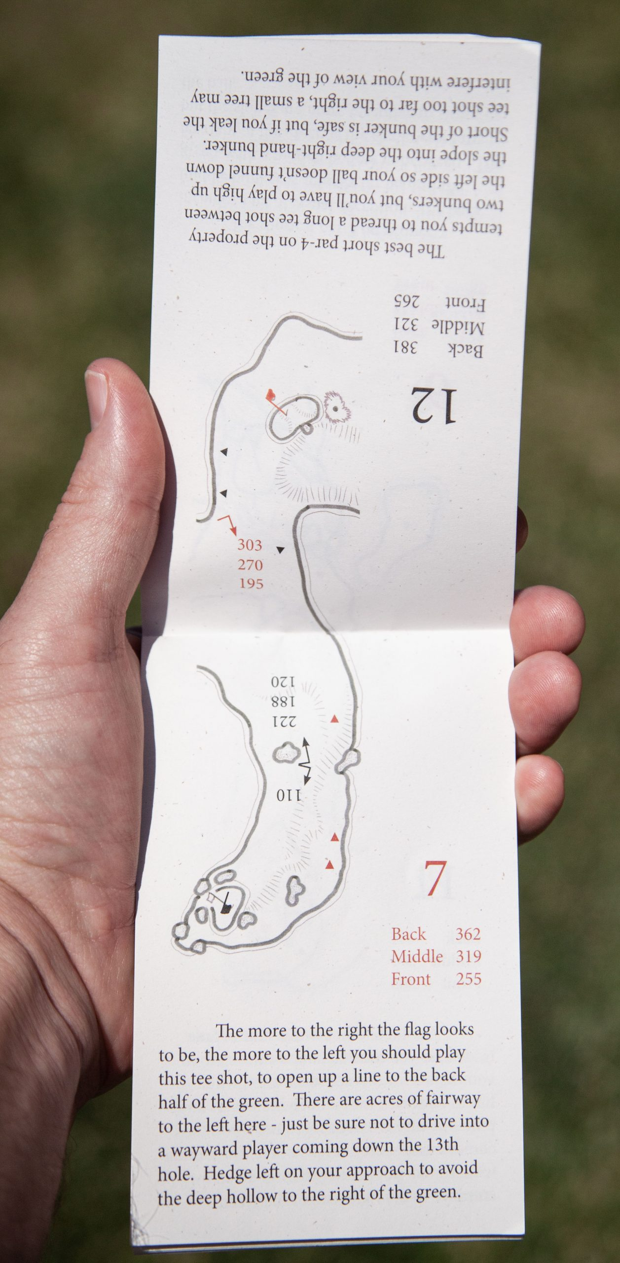 A reversible golf course is an intricate design puzzle for any architect. Photo by Brian Oar