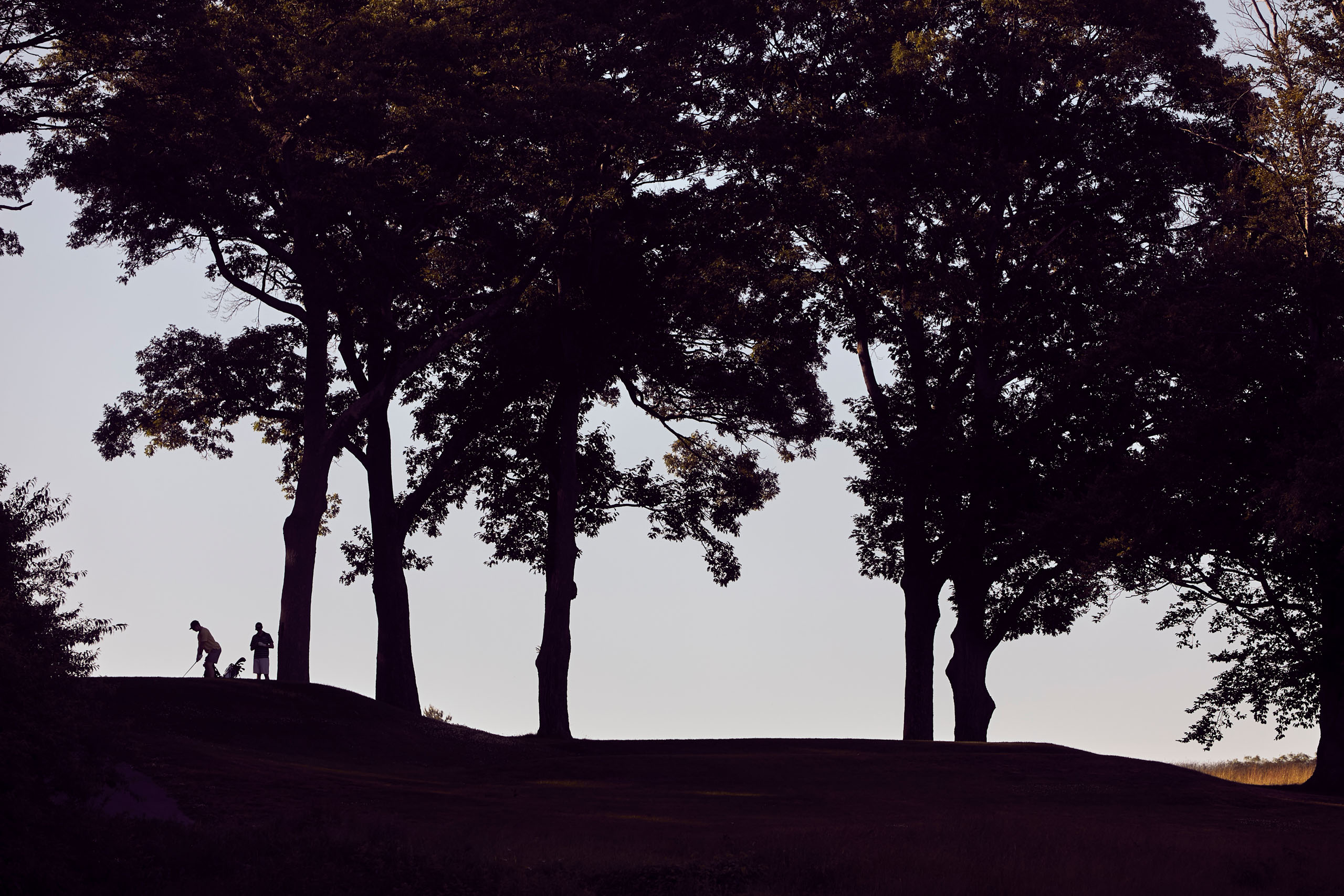 """In 1976, The Boston Globe reported that Franklin Park's fading golf course was """"a goner."""" Through force of will from a passionate group of locals and a few dedicated public officials, today Heller estimates the course hosts around 37,000 rounds per year. Photo by John Huet"""