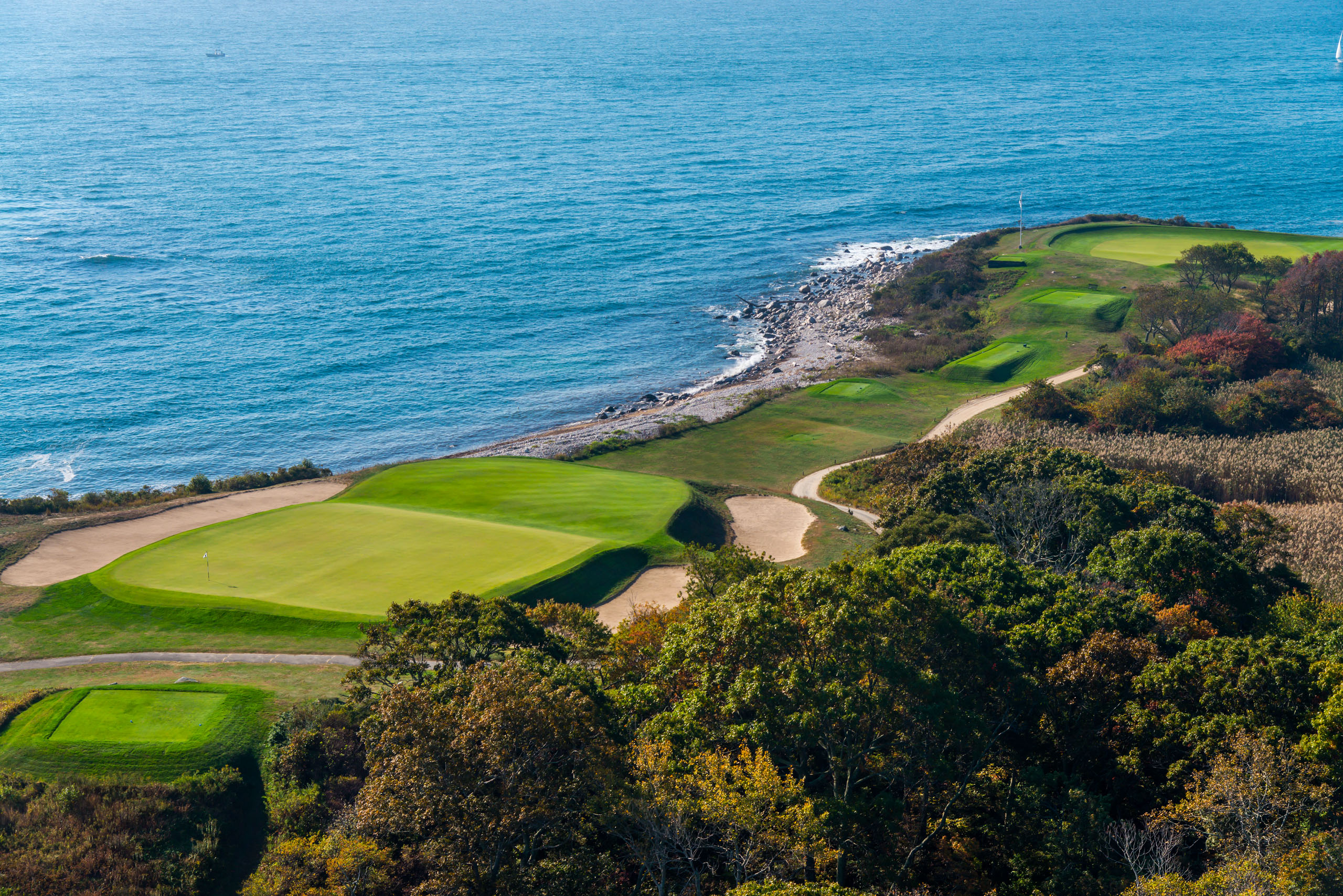 No. 5 at Fishers Island Club, Fishers Island, New York.