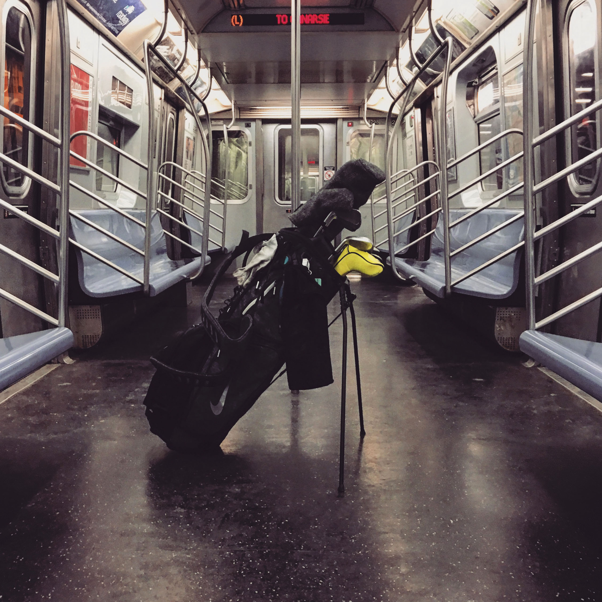Clubs on a subway