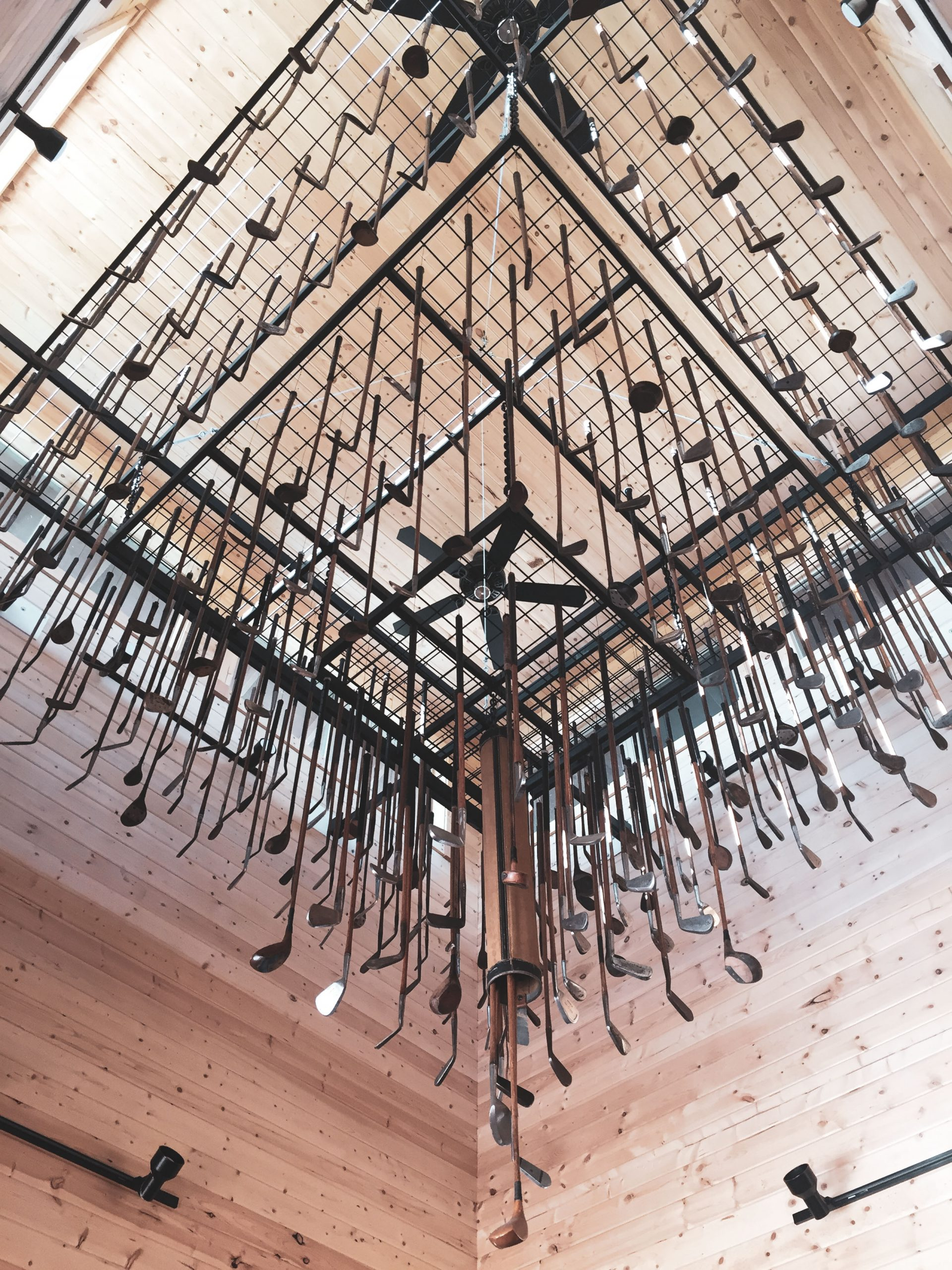 Sometimes the best thing to do at Silvies is simply enjoy the company of others, under the ranch cabin's one-of-a-kind chandelier.