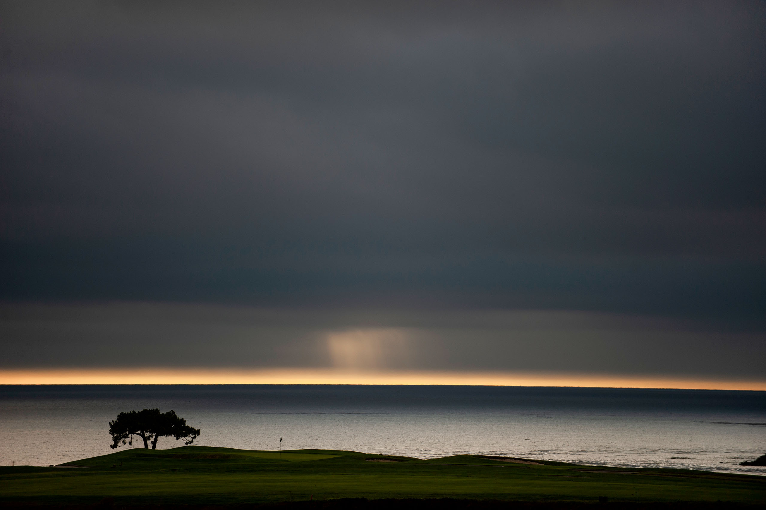 It may have been the author's final Open, but his heart will always come back to Pebble. Photo by Kohjiro Kinno