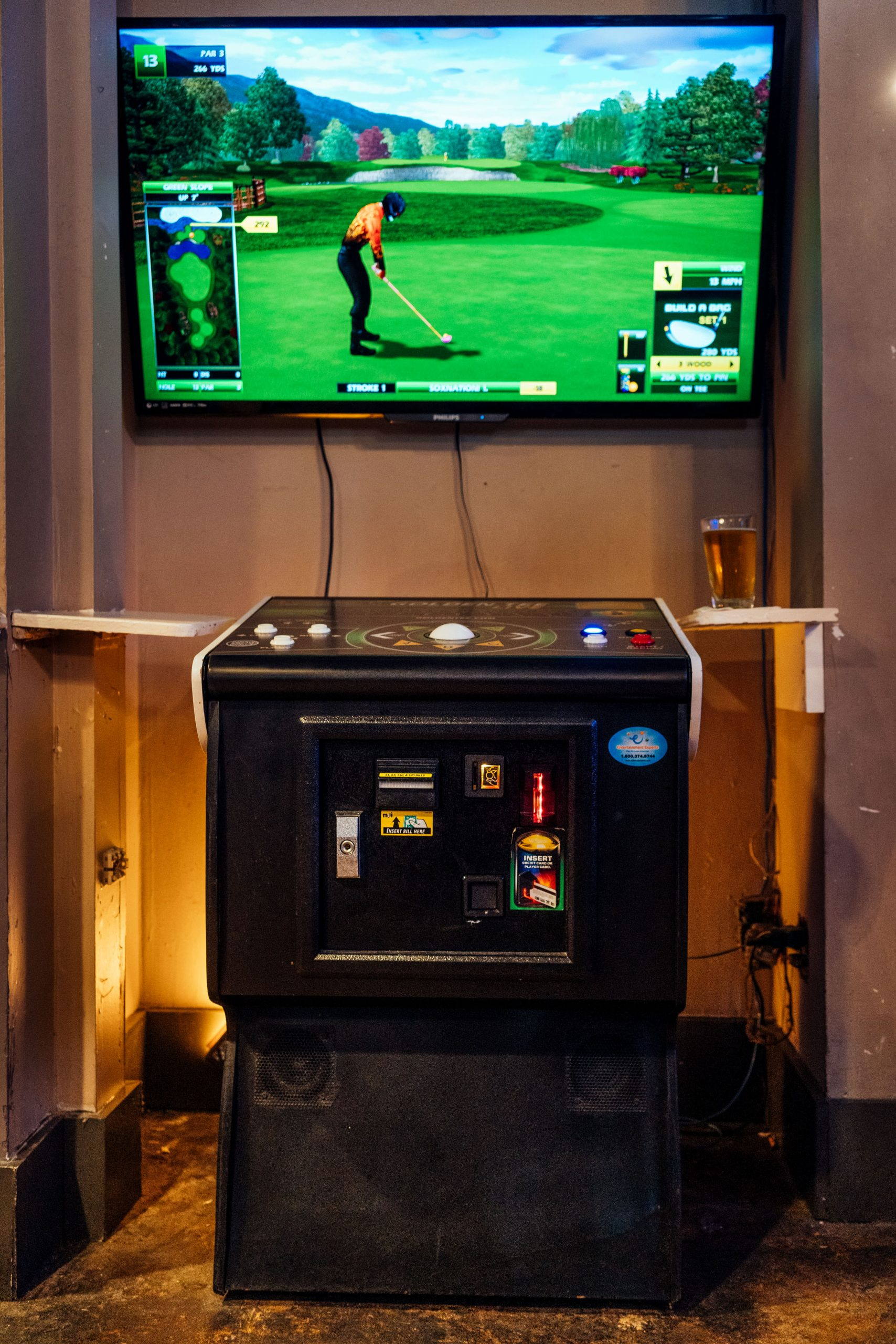 Golden Tee, Photo by Lexey Swall