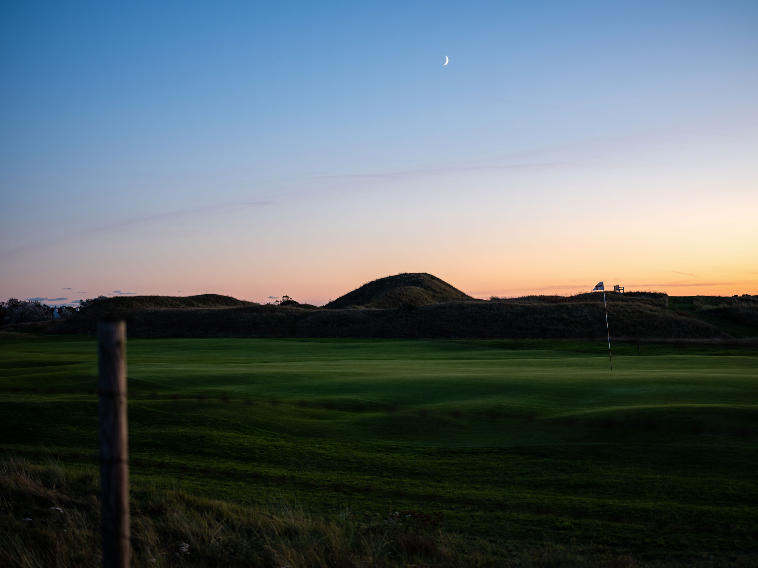 5th Hole, Royal St. George. Photo by Tom Shaw