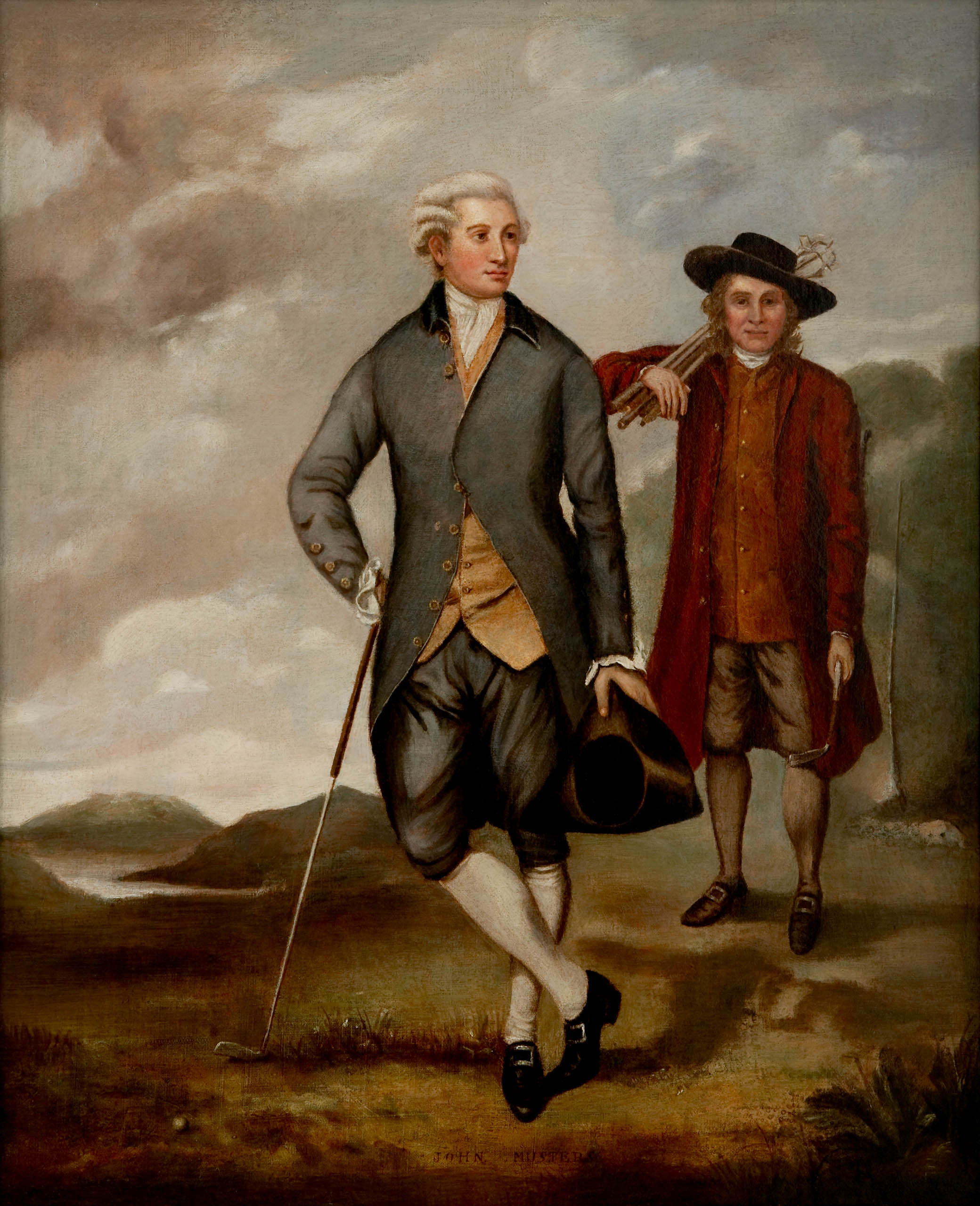 John Musters of Colwick Hall: artist unknown; ca. 1800