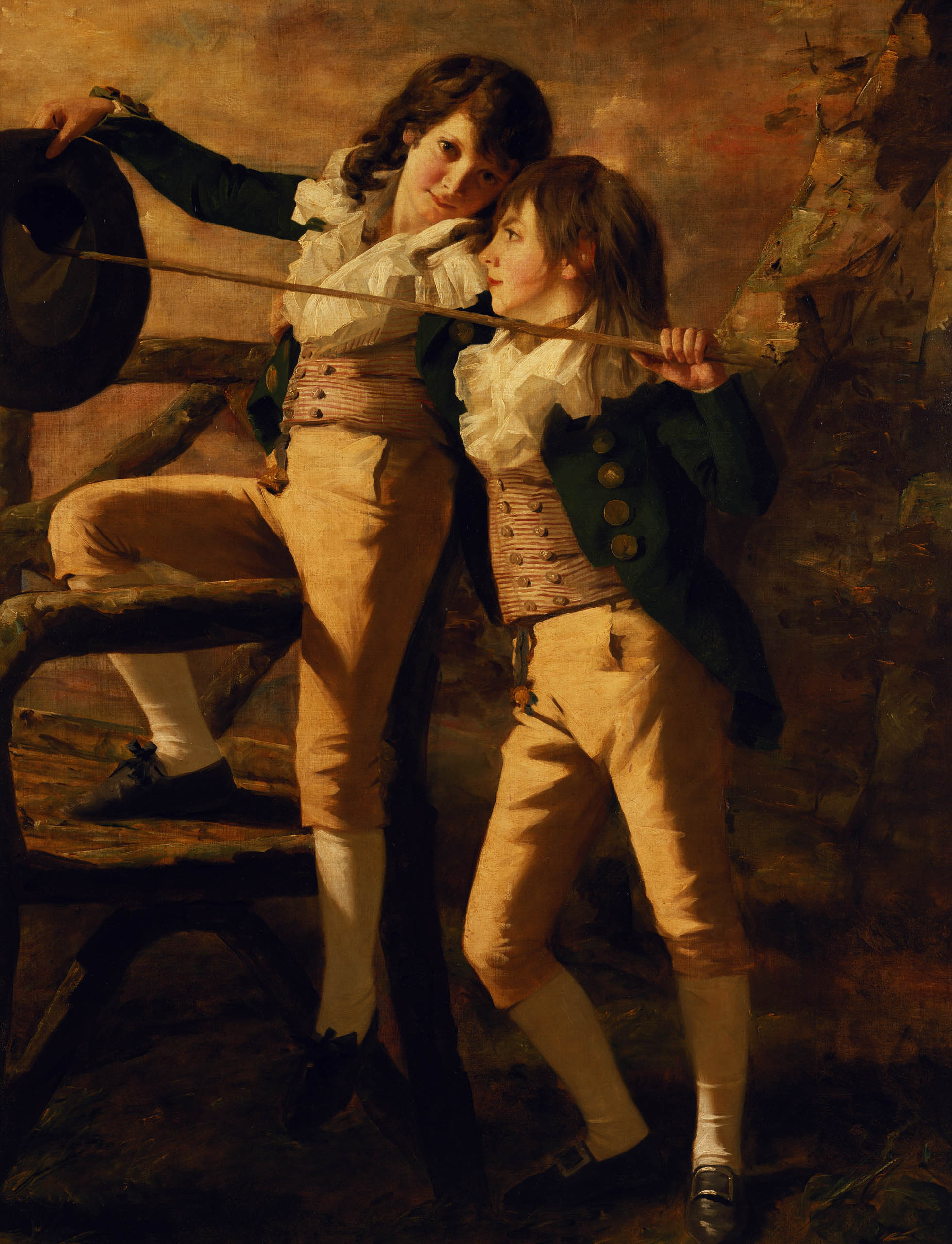 The Allen Brothers; Henry Raeburn; ca. 1790