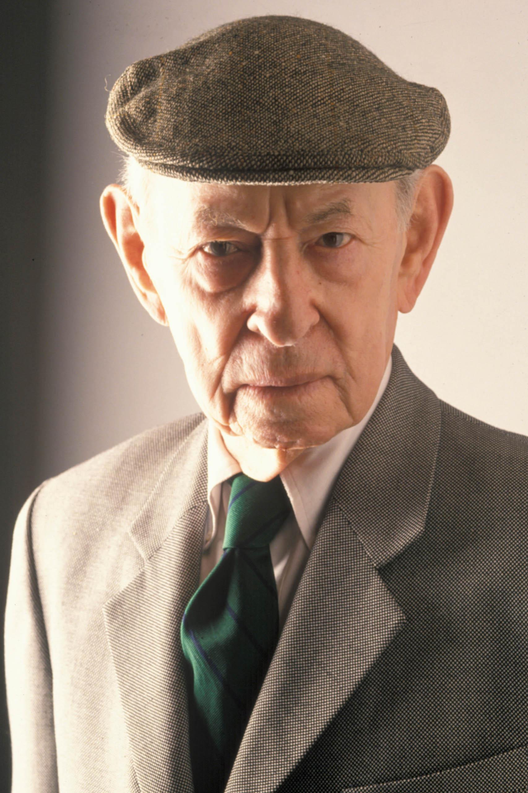 Herbert Warren Wind pictured in 1995.