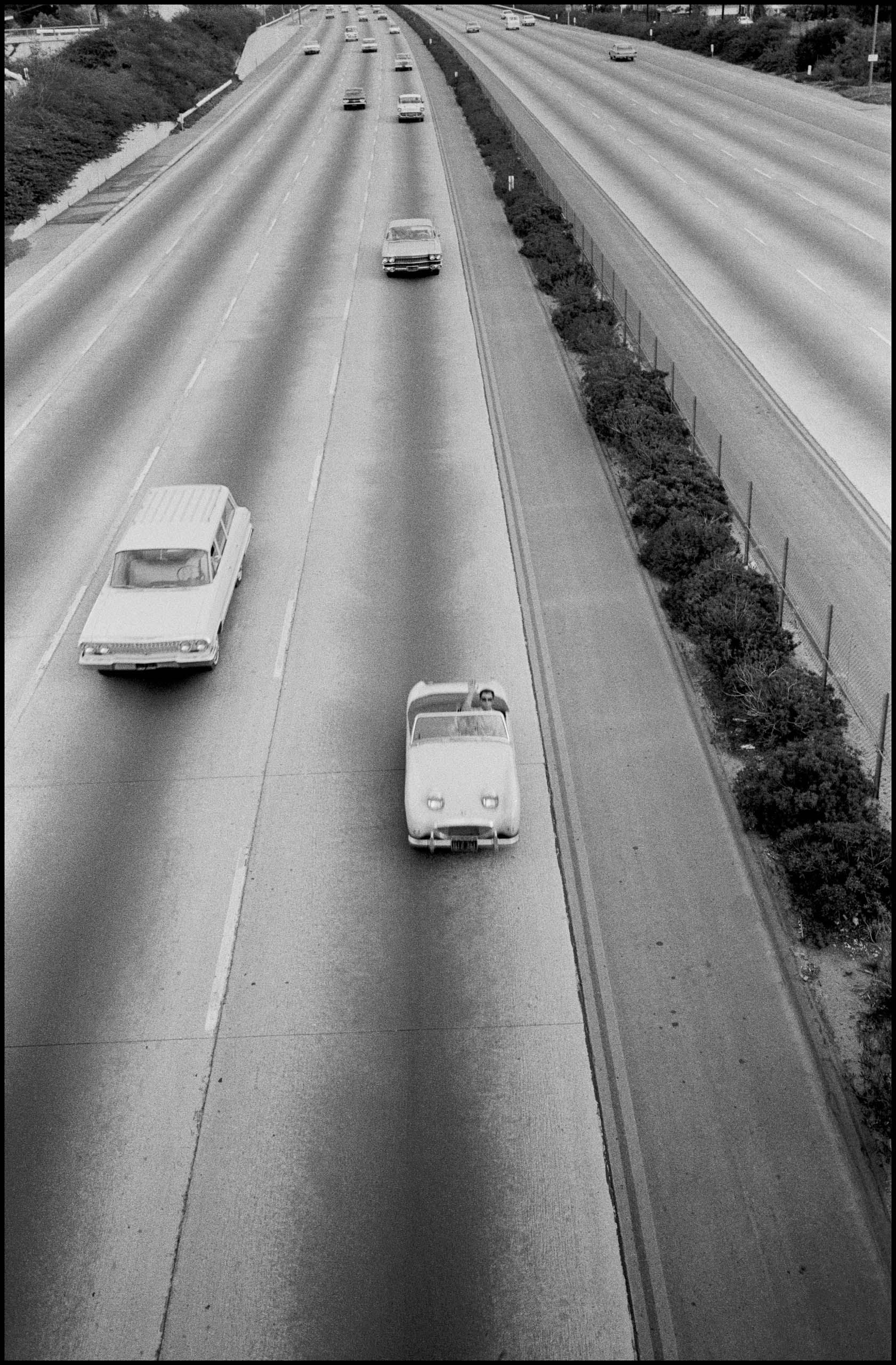 USA. Los Angeles. 1964.Photos by Bruce Davidson/Magnum Photos