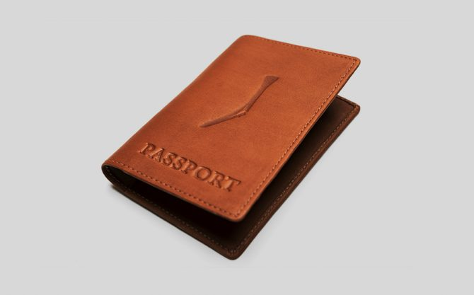 Passport Cover - Tan