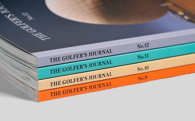 The Golfer's Journal No 9-12