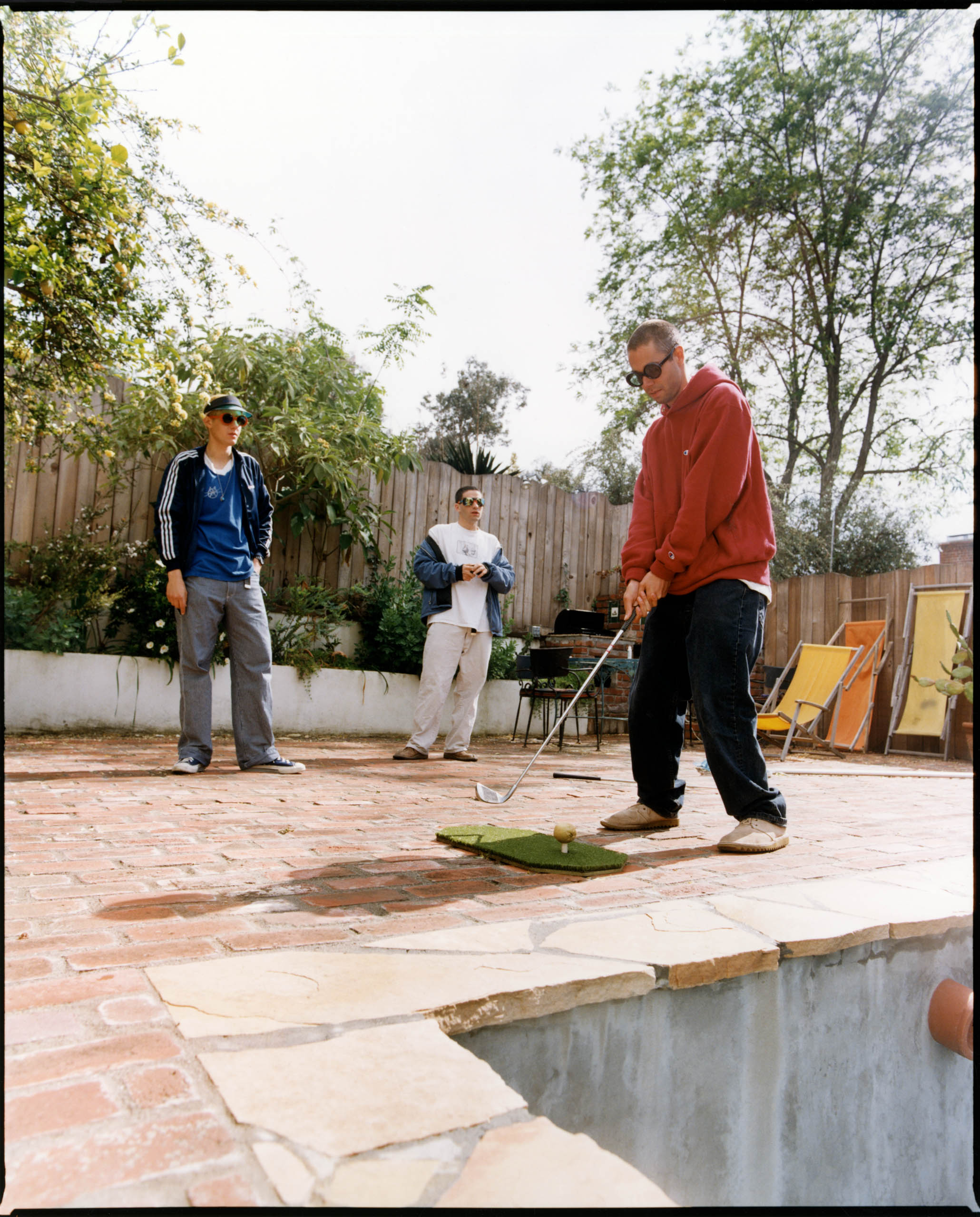 The Beastie Boys Are Not Golfers Photo by Jake Chessum